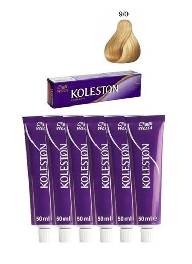 Koleston Koleston Kalıcı Krem Saç Boyası 9/0 Sarı X6 Renksiz
